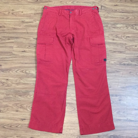 Polo by Ralph Lauren Other - Polo muted red cargo jeans 36W x 30L